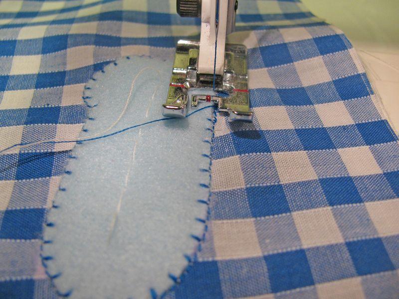 Machine Applique detail