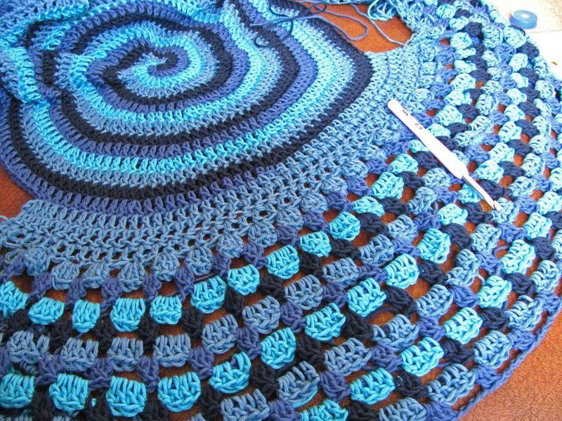 Blue Alya Outer Circle Round 15