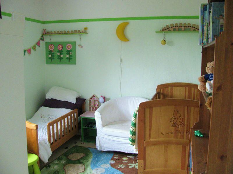Green Toddler Bedroom